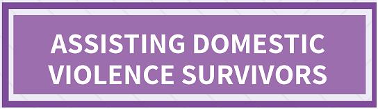 Assisting Domestic Violence Survivors