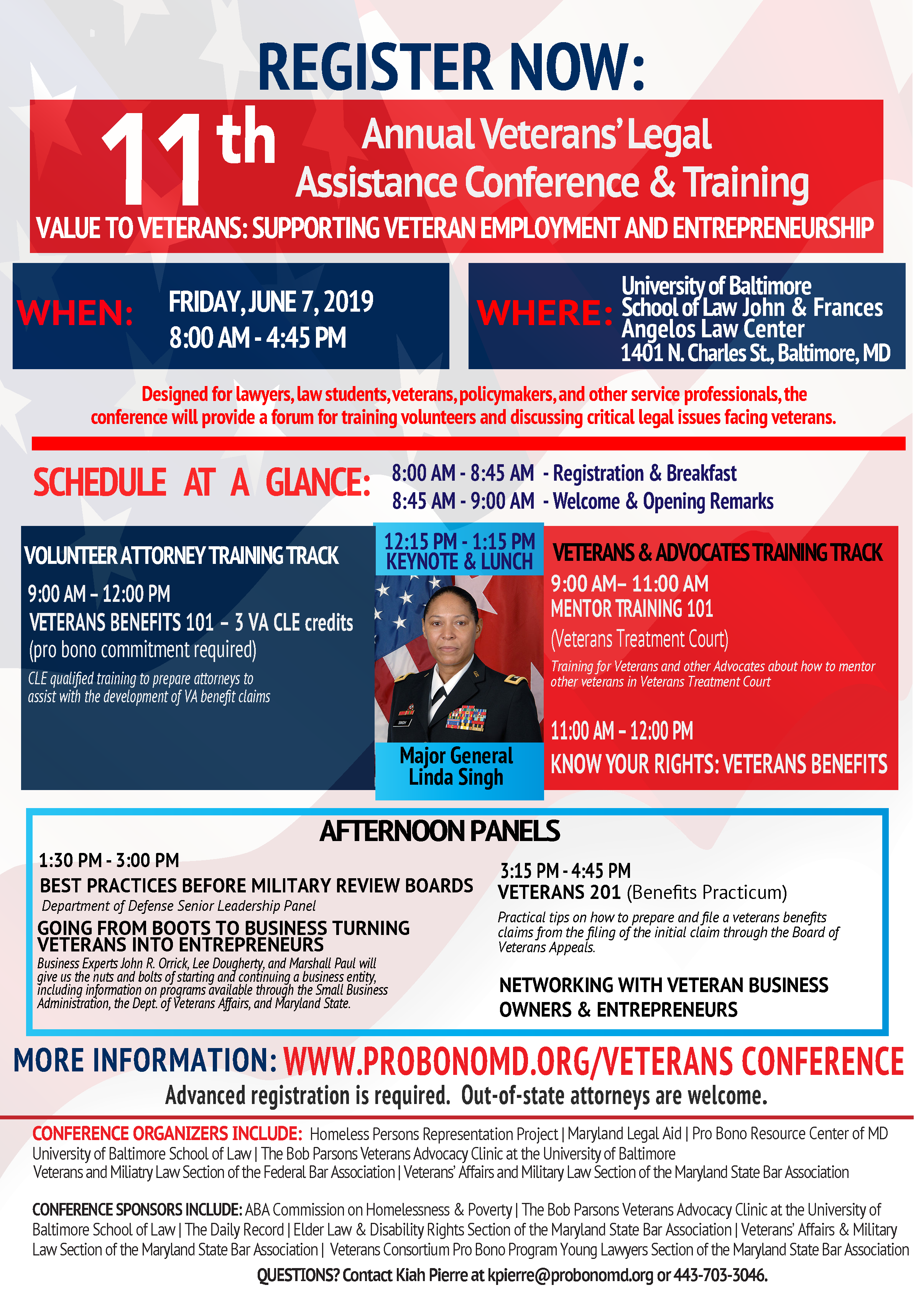 UB to Host Free Veterans' Legal Assistance Conference and