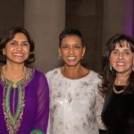 Sheela Murthy, Congresswoman Edwards, Sharon Goldsmith at PBRC 25th Anniversary