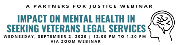 Impact on Mental Health in Seeking Veterans Legal Services